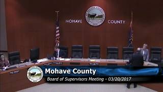 Board of Supervisors Meeting 03/20/2017