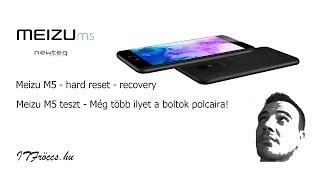Meizu M5 teszt - hard reset - recovery | ITFroccs.hu