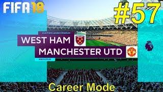 FIFA 18 - Manchester United Career Mode #57: vs. West Ham United