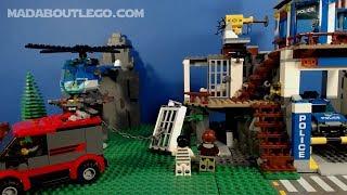 LEGO City Mountain Police Jailbreak