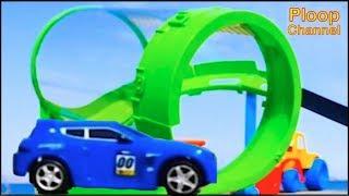 NEW - Bussy & Speedy SEASIDE RACING! - Bburago Toy Cars for Children.Stories for Kids