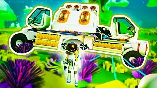 WE GOT A TRUCK! - ASTRONEER MULTIPLAYER #3 w/ Lachlan & Woofless