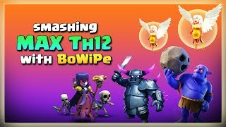 Smashing MAX Th12 with BoWiPe | After JUNE Update | TH12 War Strategy #20 | COC 2018 |