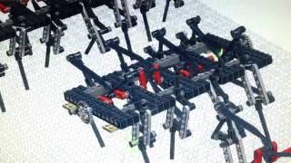 LEGO Walking Machine (Strandbeest) by Jason Allemann (inspired by Chris Magno