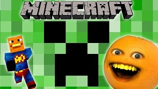 Annoying Orange - Why Creepers Gotta Be So Cute? (A Minecraft Rude by Magic Parody Song)