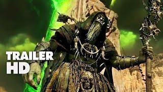 Warcraft - Official Film Trailer 2 2016 - Travis Fimmel Movie HD