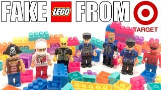 FAKE LEGO FROM TARGET! | Block Tech Knockoff LEGO CRAP!