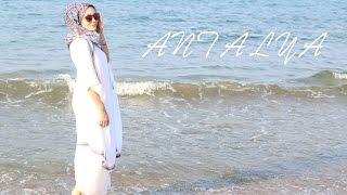 Denizde Ne Giyiniyorum ? │Antalya, Lunapark, Plaj Çantam : VLOG #8