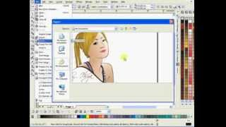How To Save as CDR files to JPG (Export) using Corel Draw