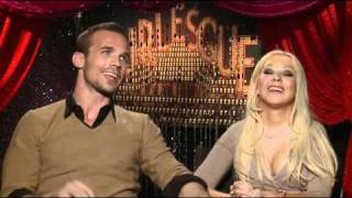 Cam Gigandet and Christina Aguilera - Burlesque Interview