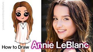 How to Draw Annie LeBlanc | Youtube Star