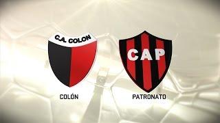 Fútbol en vivo. Colón vs. Patronato. Fecha 7. Torneo de Primera División 2016/2017. FPT