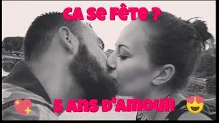 39*(VLOG) 5 ANS D'AMOUR ET 2 ANS DE MARIAGE CA SE FETE ?