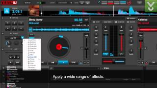 VirtualDJ 8 - Mix music without your turntables and CD players - Download Video Previews