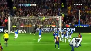 Lionel Messi and All 50 Goals in La Liga of 2011-2012