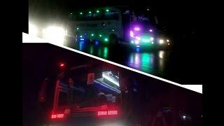 Telolet dan Strobo rombongan 2 Bus Mustika Holiday