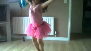 Lacey Loo dancing on her bday.x