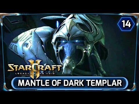 Starcraft 2 ► Legacy of the Void Cinematic [HD] - Alone, Artanis becomes Dark Templar (LOTV)