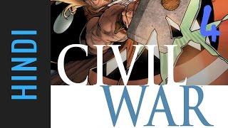Marvel CIVIL WAR | Episode 04 | Marvel Comics in Hindi
