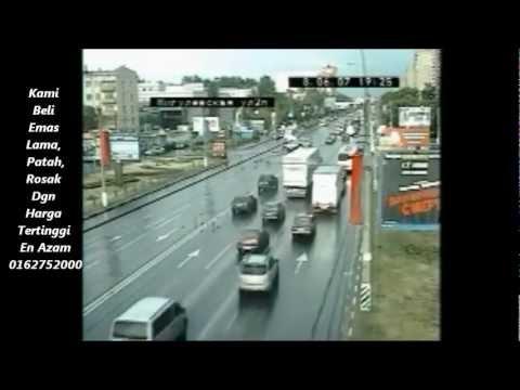Kemalangan Yang Menabjubkan Live CCTV