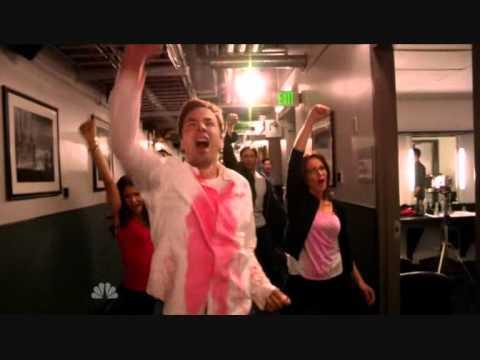 62nd Emmys Opening Tina Fey Glee cast Jimmy Fallon Jane Lynch