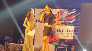 Attitude'19  @Miss India fbb Campus princes // ADTU _ Fashion show_INTRODUCTION PART-1