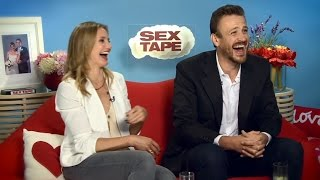 SEX TAPE - Cameron Diaz & Jason Segel Interview