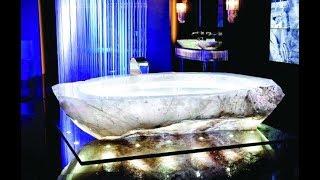أغلى حوض استحمام بالعالم في دبي شاهد كم كانت تكلفتـه ..