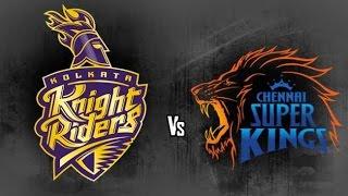 CHANNAI Super Kings vs Kolkata Knight Riders IPL 2015 Match 28
