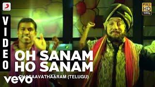 Dhasaavathaaram (Telugu) - Oh Sanam Ho Sanam Video | Kamal Haasan, Asin | Himesh