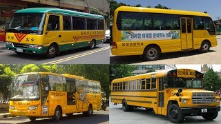 Transport and Vehicles for Children - Learn School Bus Around the World