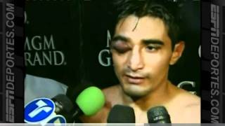 Erik Morales vs Marcos Maidana despues de la pelea