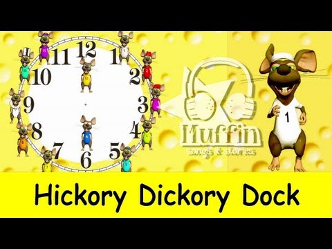 Xxx Mp4 Hickory Dickory Dock Easy Learning To Read The Time On A Clock Family Sing Along Muffin Songs 3gp Sex