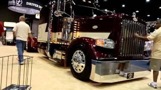 Roadworks 388 Low Pro Peterbilt Show Truck at Mid America Trucking Show 2012