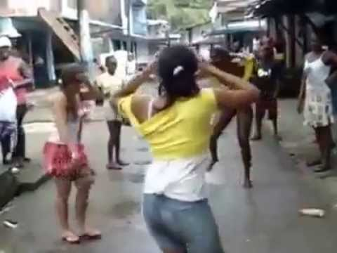 La Mejor Pelea Callegera De Negras