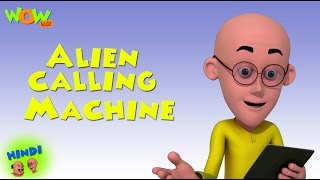 Alien Calling Machine - Motu Patlu in Hindi WITH ENGLISH, SPANISH & FRENCH SUBTITLES