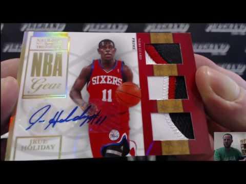 2009-10 National Treasures Basketball 4 Box Case Break #2 ~ 5/14/16
