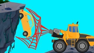 Transformer | Spider Truck | Vacuum Truck | Fire Rescue | Truck Video For Kids