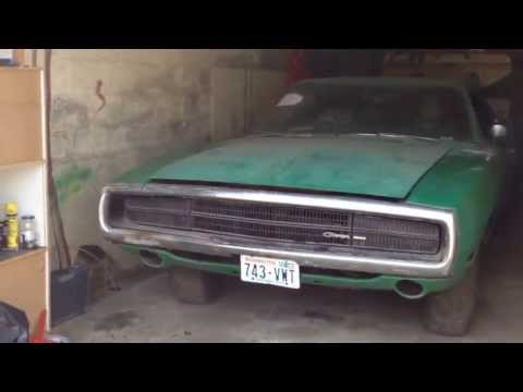 Charger barn find