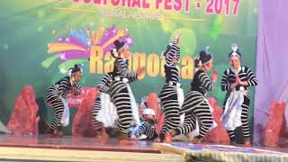NAGA DANCE PERFORMED BY HARISREE VIDHYANIDHI TEAM GOT FIRST IN ICSC STATE CULTURALS 2017