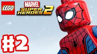 LEGO Marvel Super Heroes 2 - Gameplay Walkthrough Part 2 - Avenger's World Tour!