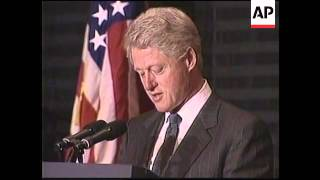 MOROCCO: CLINTON AT FUNERAL OF KING HASSAN II
