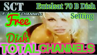 Eutelsat 70B All Channels List with Full Dish Setting