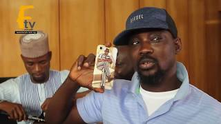WASIU ALABI PASUMA SHOWCASE HIS EXPENSIVE PHONE WHILE LIZZY SHOWS HIS EFFIZZY