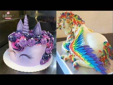 Top 20 Amazing Birthday Cake Decorating Ideas Cake Style 2017 Oddly Satisfying Cake Decorating