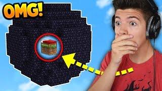100 OBSIDIAN BED CHALLENGE! | Minecraft BED WARS