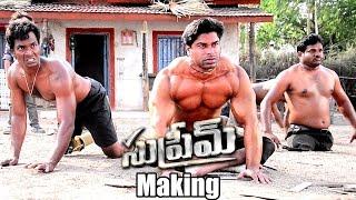 Supreme Movie Making | Sai Dharam Tej, Rashi Khanna