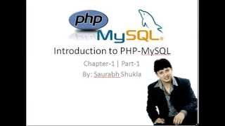 Chapter 1 Introduction to PHP MySQL Part 1 Hindi
