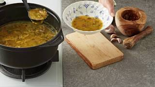 MAGGI Recipes: Spicy Tomato & Beef Oats Soup وصفات ماجي: شوربة الشوفان بالطماطم واللحم الحارة