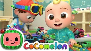 Clean Up Song | ABCkidTV Nursery Rhymes & Kids Songs